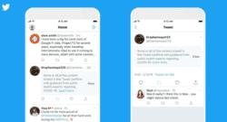 Platform News: Twitter Labels on smartphone apps
