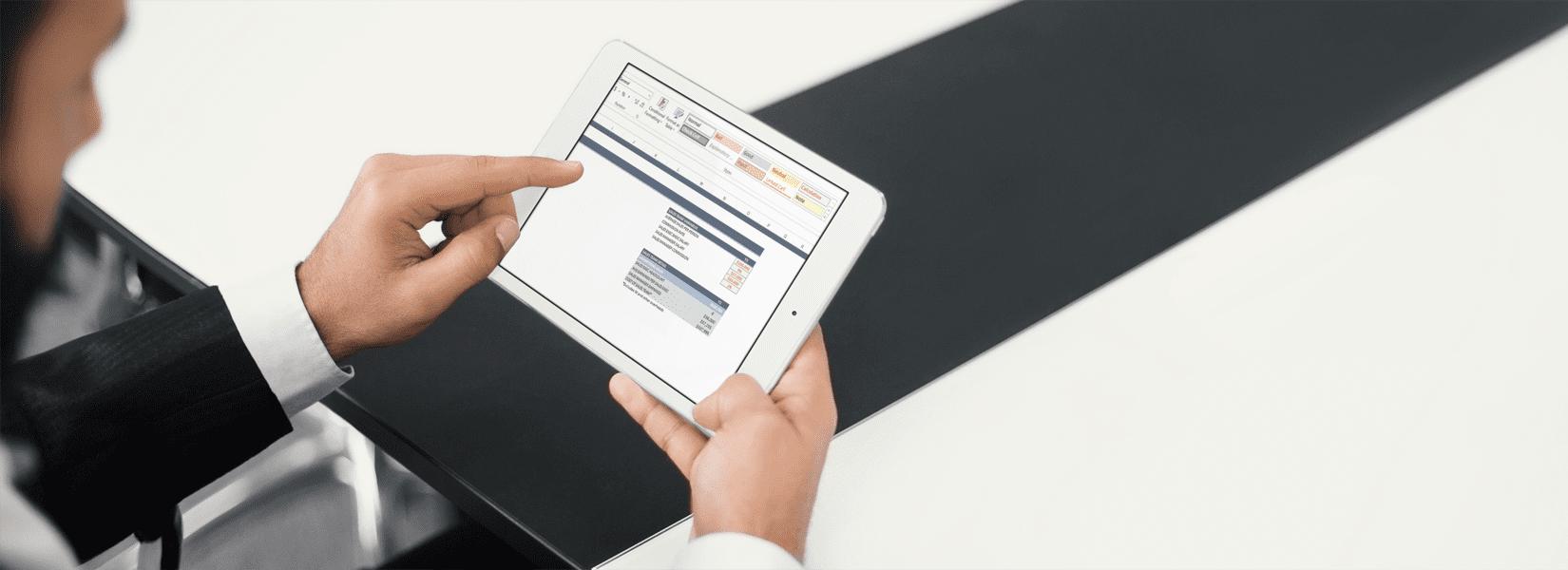 Business plan reviews by Platform Executive